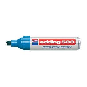 rotulador-permanente-punta-biselada-2-7-mm-azul-edding-500