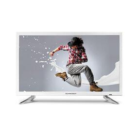 televisor-schneider-2411-led-hd-blanco-hdmi-usb-vga-modo-hotel