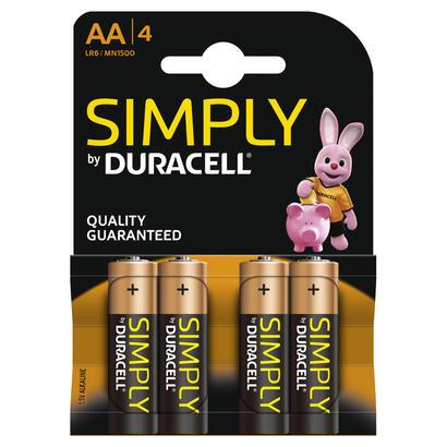 duracell-pack-de-4-pilas-simply-lr6-15v-alcalina-aa