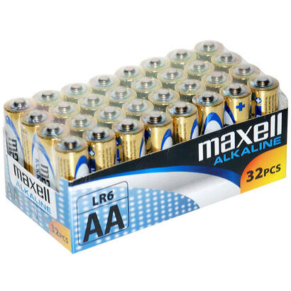 maxell-pila-alcalina-aa-lr06-pack32-pilas