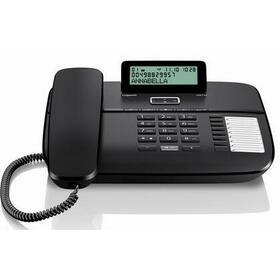 gigaset-telefono-da710-8x2-teclas-marca-directa-rellamada-16-tonos-manos-libres-negro
