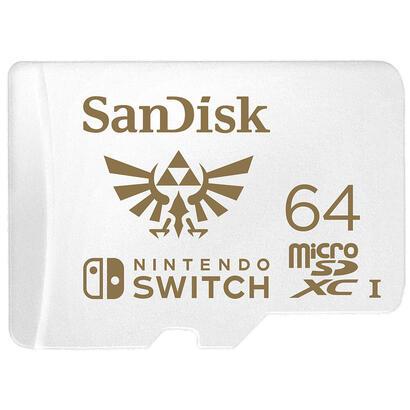 sandisk-micro-sdxc-64-gb-uhs-i-u3-para-nintendo-switch-sdsqxat-064g-gnczn
