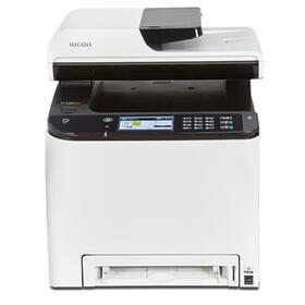 impresora-ricoh-laser-color-spc261sfnw-multifuncion-fax-a4-20ppm-256mb-usb-red-wifi-adf-50-hojas-duplex-todas-las-funciones-nfc
