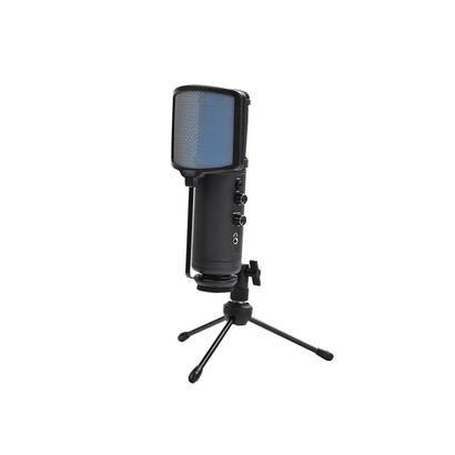 keepout-microfono-usb-pro-windscreen-led-azul-tripode-control-ganancia-silencio-y-alimentacion-usb