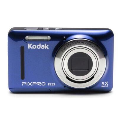 camara-digital-kodak-pixpro-fz53-azul-16mpx-lcd-271-zoom-5x-opt-angular-28mm-vaadeo