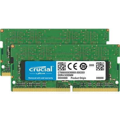 memoria-crucial-sodimm-ddr4-32gb-2666mhz-c19-dual-rank-2x16gb