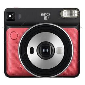 fujifilm-instax-square-sq6-rojo-camara-instantanea-con-5-modos-de-imagen-y-3-filtros-para-el-flash