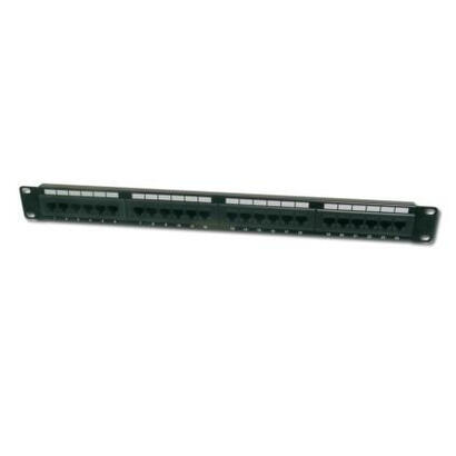 digitus-patch-panel-24-port-clase-e-categoria-6-sin-apantallar-191-1u-dn-91624u
