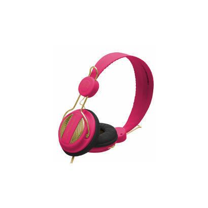 auriculares-con-microfono-phoenix-1080-air-fucsia