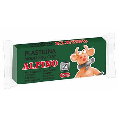 plastilina-150-gramos-verde-sin-glutenalpino-modela-modelling-clay