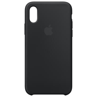 funda-apple-iphone-xs-silicon-casenegromrw72zma