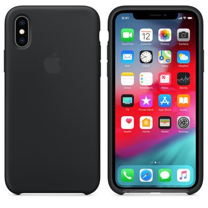 funda-apple-iphone-xs-silicon-casenegromrw72zma