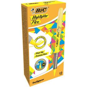 marcador-fluorescente-amarillo-punta-flexible-fine-largue-medium-bic