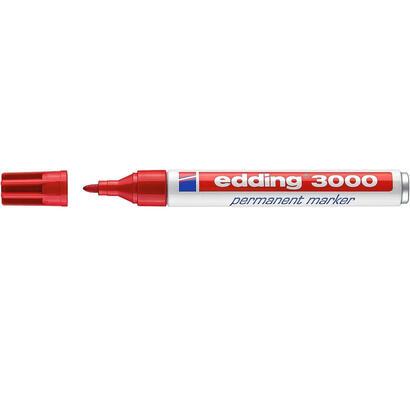 rotulador-permanente-punta-redonda-15-3-mm-rojo-edding-3000