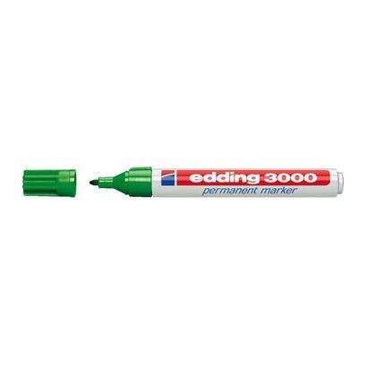rotulador-permanente-punta-redonda-15-3-mm-verde-edding-3000