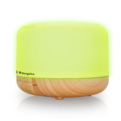 humidificador-de-aromaterapia-orbegozo-hua-4000-ultrasonico-capacidad-400ml-temporizador-hasta-3h-7-colores-tono-brillante-y-ten
