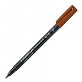 rotulador-permanente-staedtler-marron-punta-f-06mm-lumocolor-superfino-318