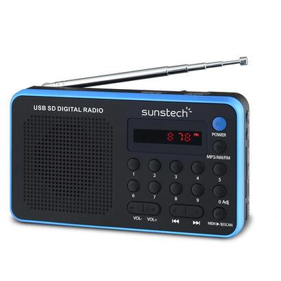 radio-portatil-sunstech-rpds32bl-blue-amfm-70-presintonias-altavoz-14w-rms-sdusbaux-in-conexion-auriculares-bateria-400mah