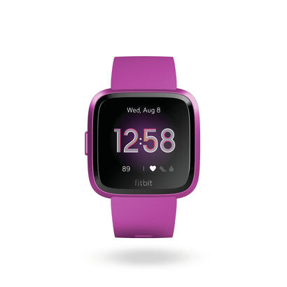 fitbit-versa-lite-lila-aluminio-smartwatch-reloj-deportivo-con-pantalla-tactil-y-correa-lila