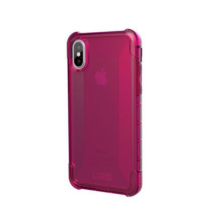 urban-armor-gear-plyo-rosa-carcasa-iphone-xs-resistente