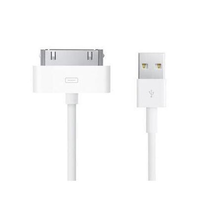 unotec-2800510000-cable-de-telefono-movil-blanco-usb-a-apple-30-pin-1-m