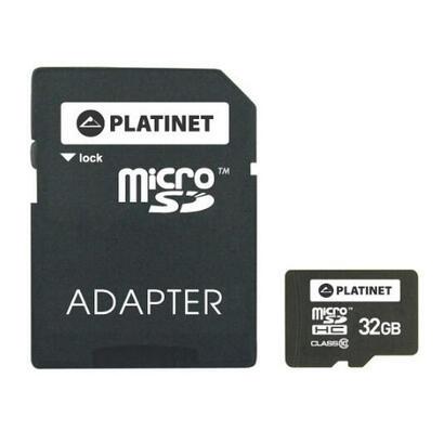 platinet-microsd-32gb-clase-10-adaptador