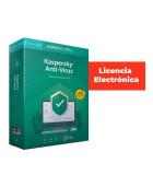 Antivirus licencia electrónica