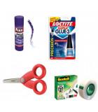Corte, adhesivos y corrección