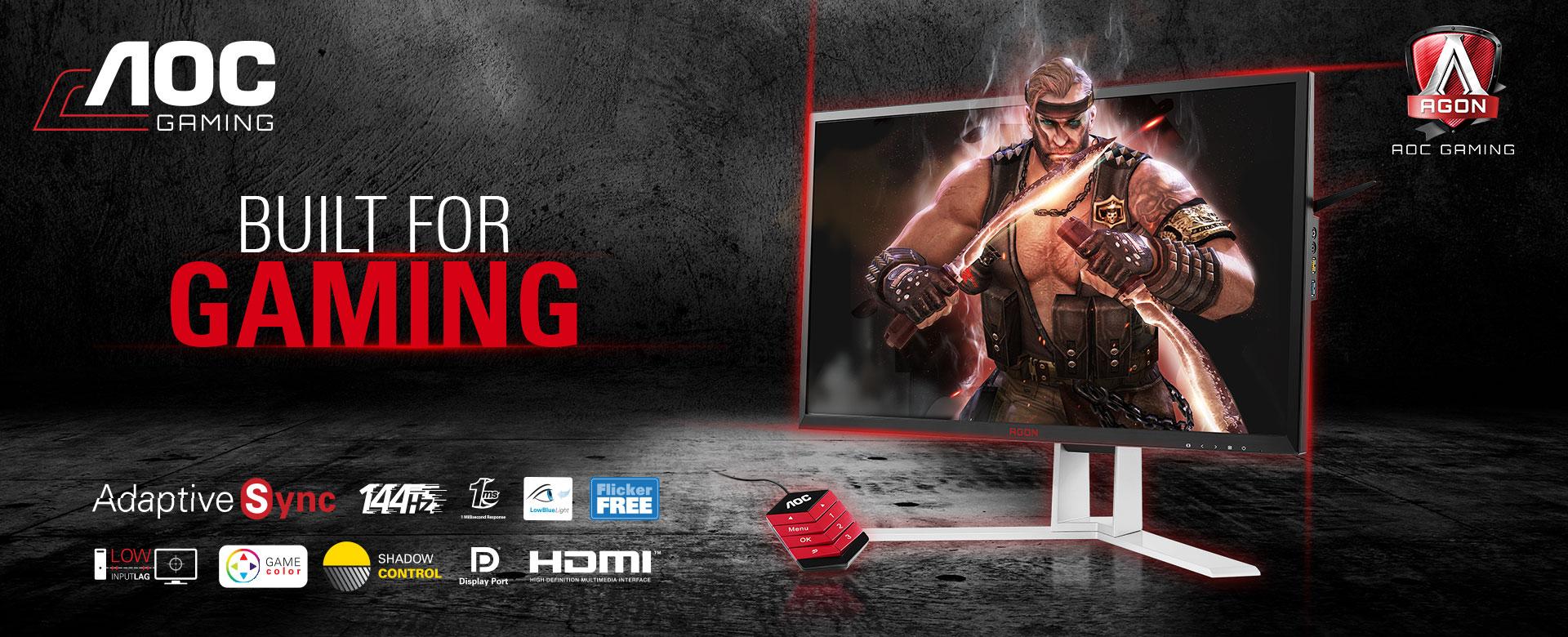 Aoc tienda online , monitor aoc gaming , comprar monitor aoc , tienda aoc , monitor gaming barato